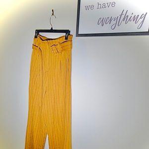 Asos High-Waisted Striped Pants